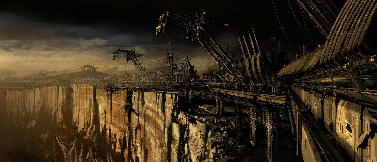 Before the game comes concept art – Ryan Church: 'Dead Space'