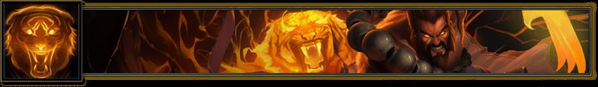 Tiger Stance Banner