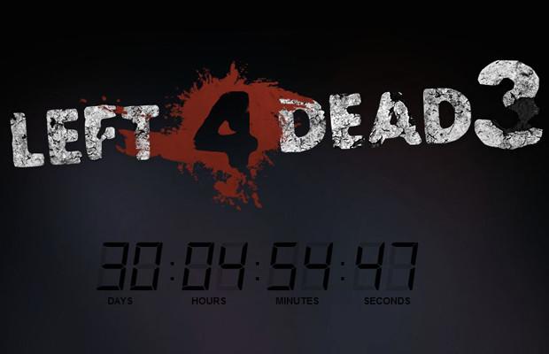 Rumor: 'Left 4 Dead 3' countdown appears