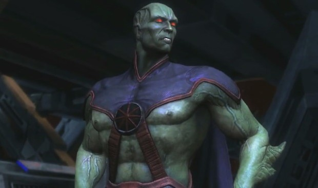 Martian Manhunter drops for 'Injustice' on 360 and PS3 next week; no word on Wii U release