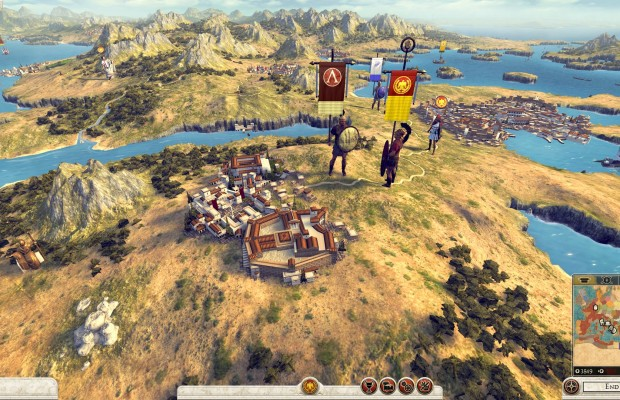 'Total War: Rome II' campaign gameplay