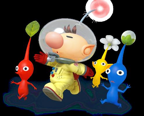'Pikmin' star Captain Olimar is back for 'Super Smash Bros.' on Wii U