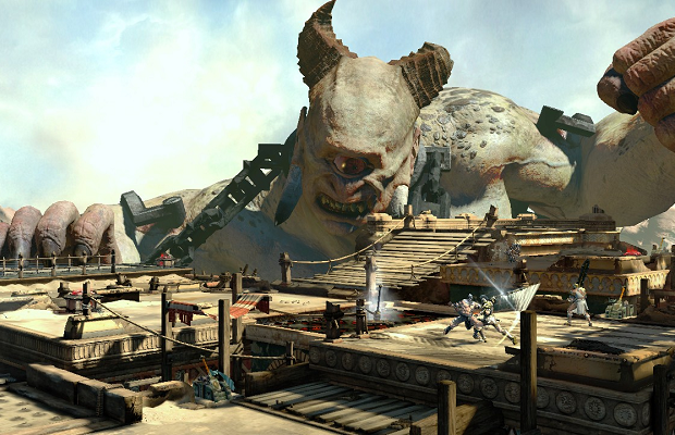 'God of War: Ascension' receives new co-op weapons