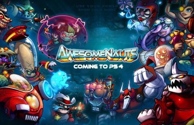Ronimo's 2D MOBA 'Awesomenauts' is coming to the PS4