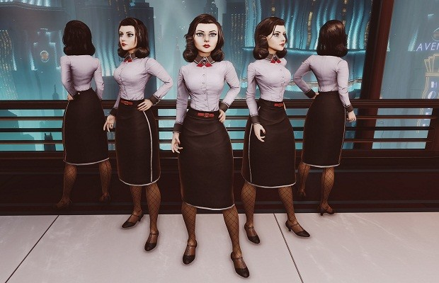 Elizabeth receives a new outfit for 'Burial at Sea' DLC