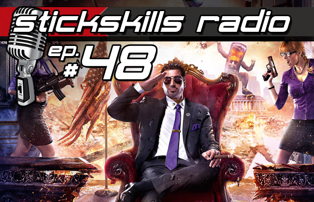StickSkills Radio Episode 48: Saints Row IV is the best kind of dumb & GTA Online looks amazing