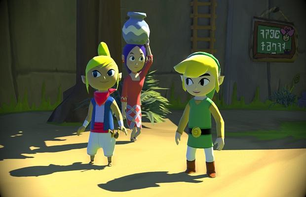 32 GB Wii U 'Legend of Zelda: Wind Waker HD' bundle coming