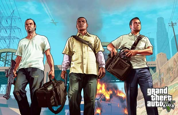 Here's the trailer of 'Grand Theft Auto Online', coming Oct. 1 via patch to 'GTA V'