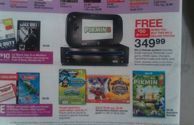 Target ad confuses Wii and Wii U