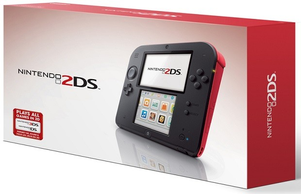 Nintendo announces the 2DS, compatible with all 3DS & DS games
