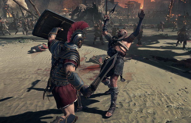 Take a look at the combat in 'Ryse: Son of Rome'