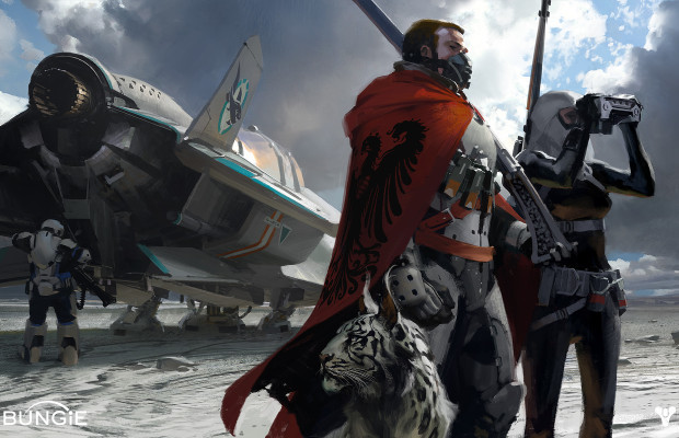 Check out the 'Destiny' box art for the PS4, new trailer coming tomorrow