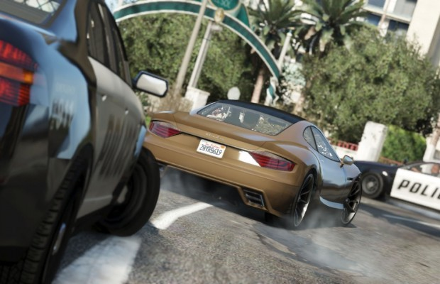 The greatest 'Grand Theft Auto V' car chase you'll ever see