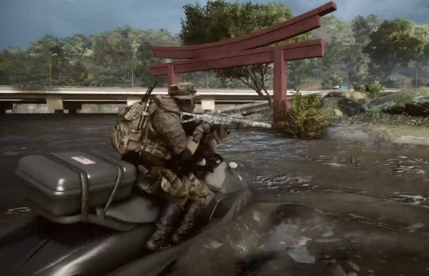This 'Battlefield 4' trailer talks all about the Flood Zone map
