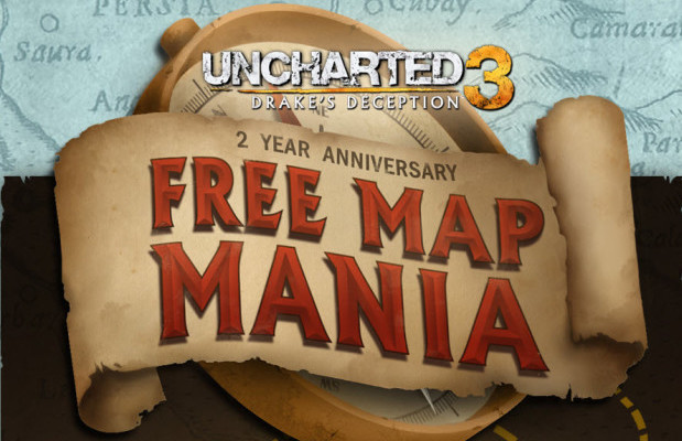 2 Year Anniversary of 'Uncharted 3' makes all maps free, brings with it new map
