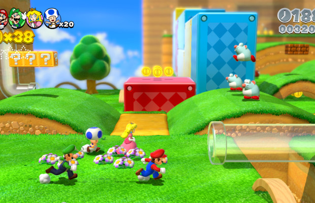 'Super Mario 3D World' trailer brings the new power-ups and levels