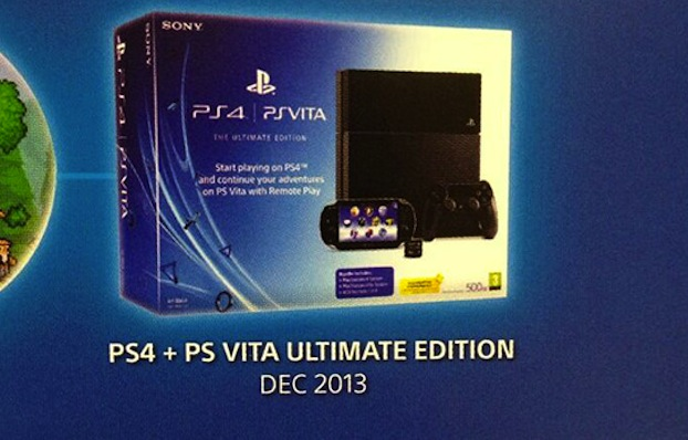 Sony to offer PS4/Vita bundle in UK