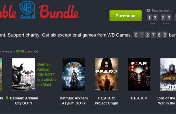 Humble WB Games Bundle includes 'Scribblenauts Unlimited', 'Batman Arkham' titles