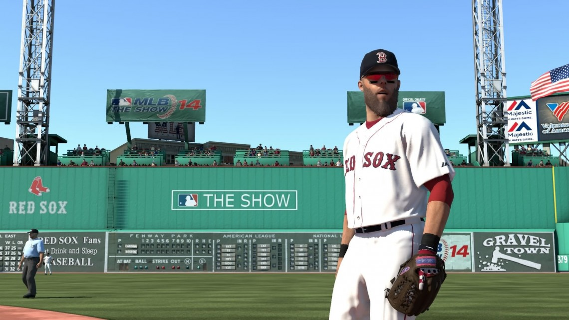 MLB 14 The Show Fenway Park