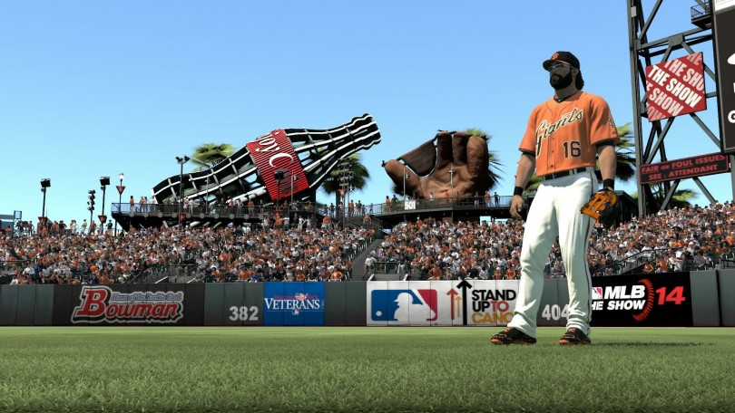 MLB 14 The Show Giants