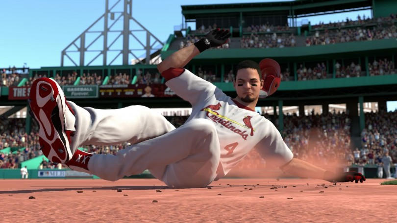 mlb 14 the show cardinals sliding