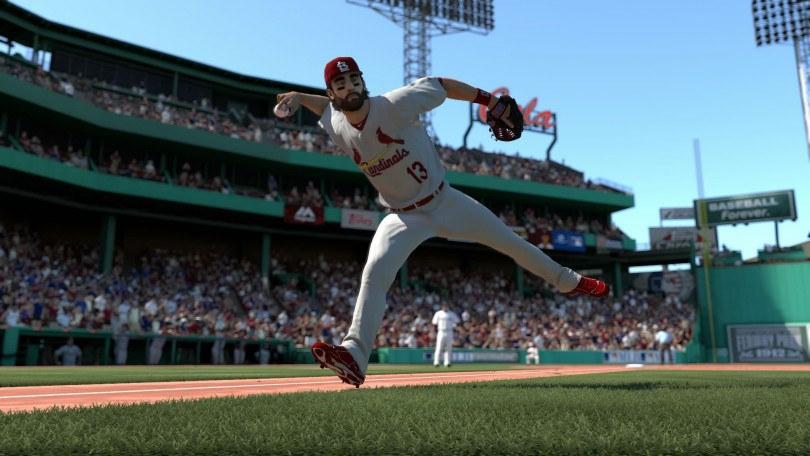 mlb 14 the show fielder