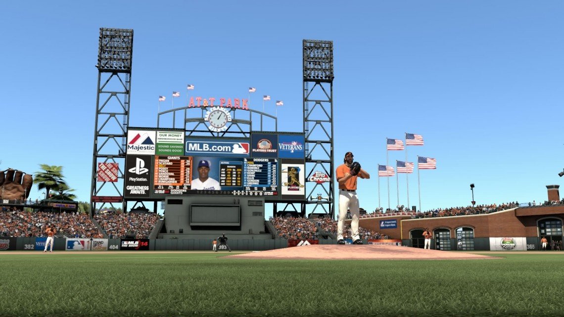 mlb 14 the show giants stadium