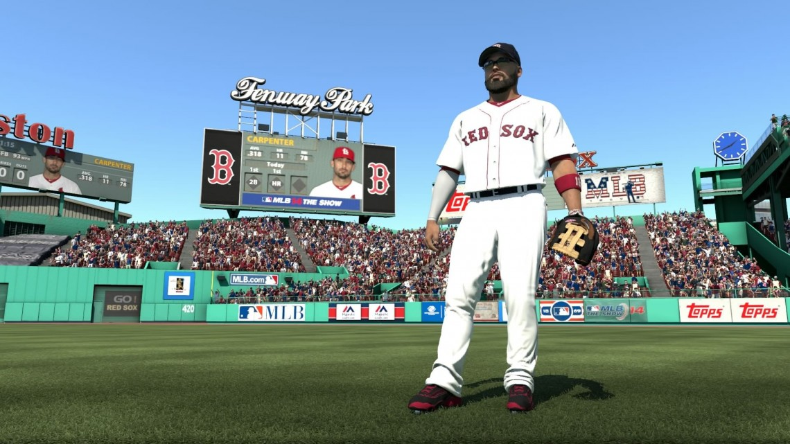 mlb 14 the show outfield
