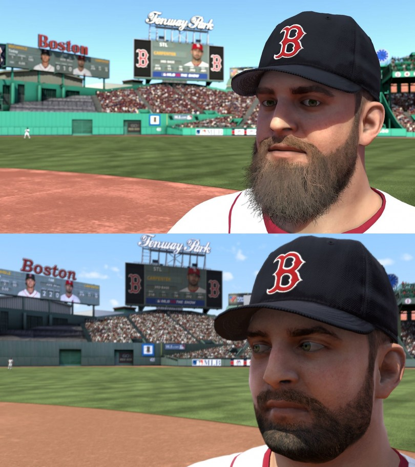 napoli beard mlb 14