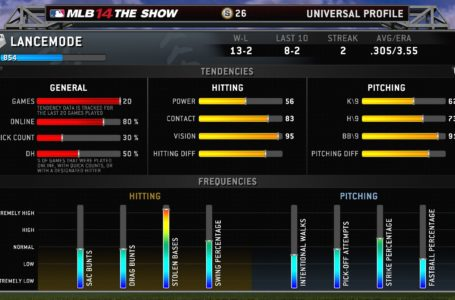 A Detailed Look At Stubs and Universal Profile in 'MLB 14 The Show'
