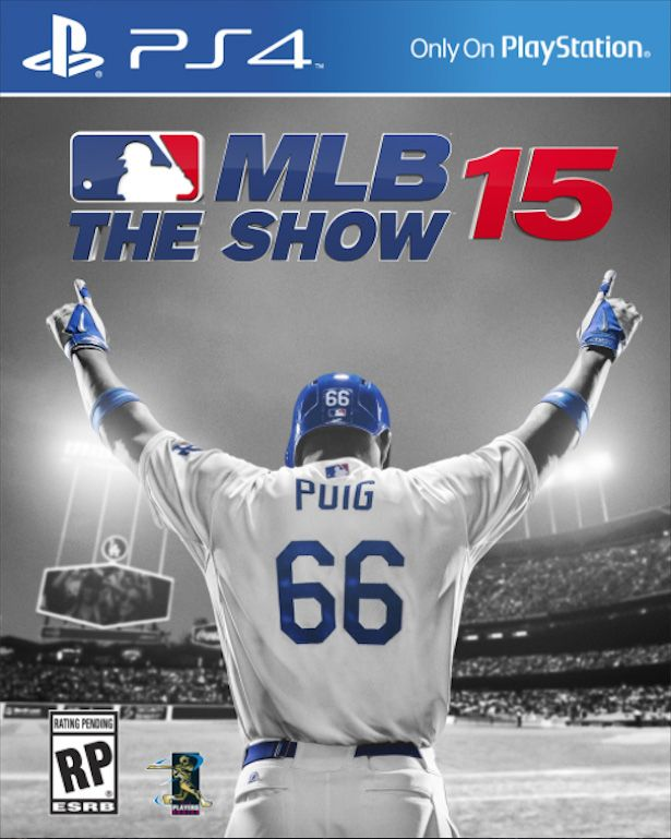 mlb 15 the show cover puig