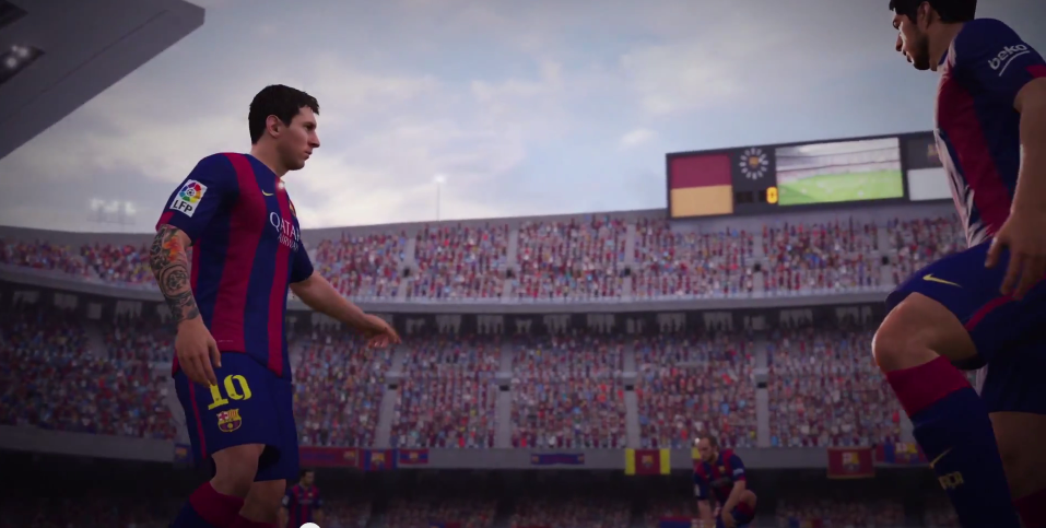 New FIFA 16 Trailer Showing Off No Touch Dribbling