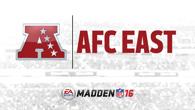 Madden 16 Patriots, Jets, Bills, and Dolphins Ratings