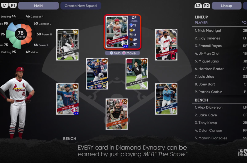 MLB The Show 21 Diamond Dynasty – Earn Every Card Just By Playing