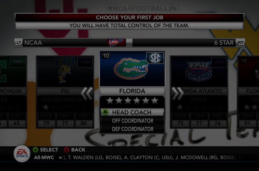 Here Are The 4, 5, And 6 Star Prestige Programs In NCAA Football 14