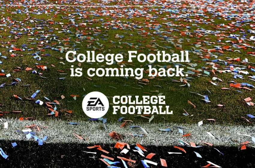 EA Sports College Football Release Date Set For July 2023